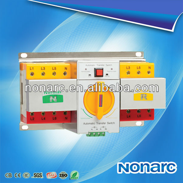 2016 New NQ3 Double-power Automatic Transfer Switch Ats 1000a
