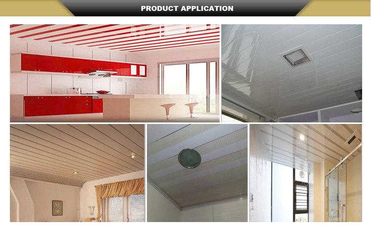 Kitchen 60x60 New Design Stretch Laminated Pvc Ceiling Board Price Malaysia