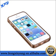 Metal plate back cover Luxury Aluminum case for iphone 5c