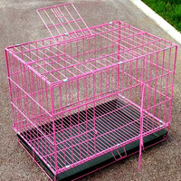 Wire Folding Pet Crate Foldaway Dog Cage