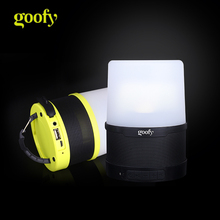 3-in-1 Bluetooth Speaker 4000 mAh Power Bank Battery Rechargeable Tent Lights Lamp LED Camping Light Lantern