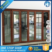 Top Selling Products In Alibaba Single Glass Insulated Folding Door