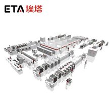Automatic LED Lamp Production Line / SMT Line for LED Chips 0402