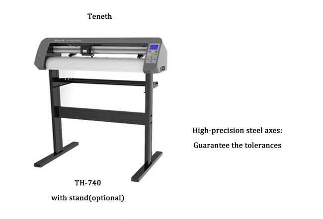 2016 !!Brand New 740mm 24'' Vinyl Sign Sticker Cutter Cutting Plotter Machine with Optional Sensor Contour Cut and USB Port