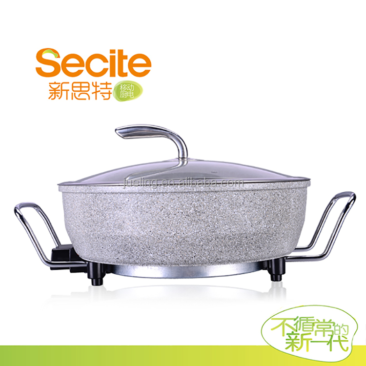Marble Healthy Convenient Electric Steamboat Multi-purpose Cooker