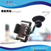 crystal edition with leather 360 degree rotating universal car holder for mobile phone and pad.