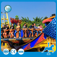 Funfair Outdoor Entertainment Sliding Amusement Park