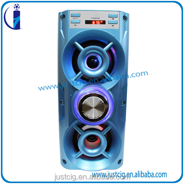 High Quality UK-28 Active Wooden live 2.2 Speaker Karaoke sound system with FM