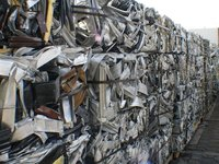 We have Aluminum 6063 Extrusion Scrap and Alu Taint/Tabor Scrap