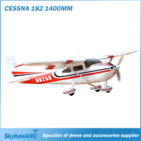 New SkyhawkRC Cessna 182 1410mm Foam EPO RC airplane Plane 2.4Ghz 6CH brushless version remote control aircraft