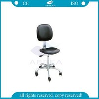 AG-NS005 CE&ISO metal frame medical lab stool