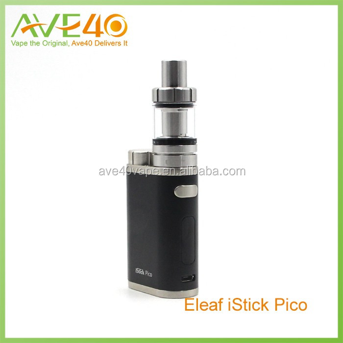 2016 Wholesale Alibaba e-cigarette istick100 colored pico mod with 2mi atomizer
