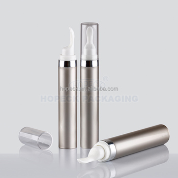 Double wall syringe injection airless cosmetic bottle 20ml