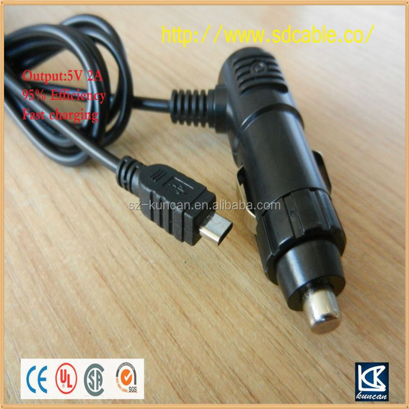 Dual USB 12v Car Charger ac dc car cigarette lighter socket adapter
