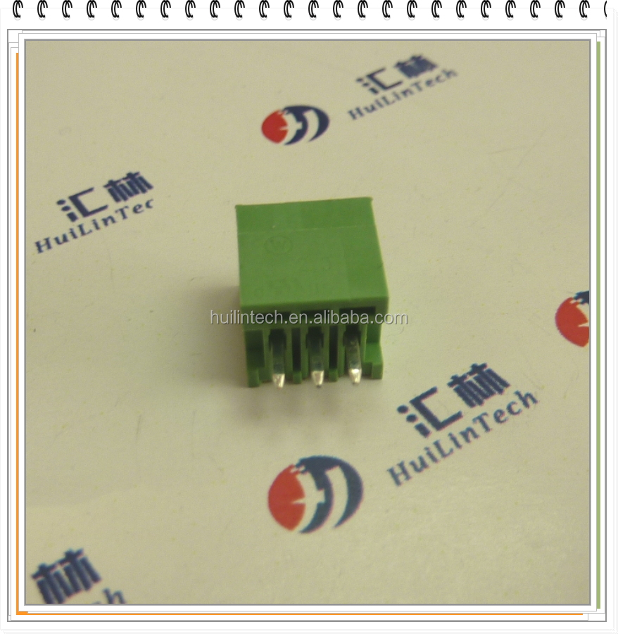 UL electronic connector PCB Phoenix mini male terminal block 2.5mm