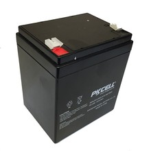 deep cycle dry cell battery 12v 5ah sealed lead acid rechargeable battery