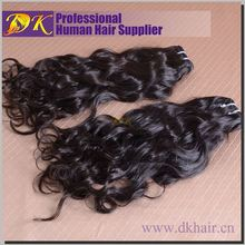 Natural hair HS Code 6703000000 Virgin brazilian natural wave hair weaving