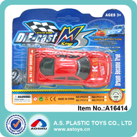 Red racing car alloy model car mini kids Die cast racing car