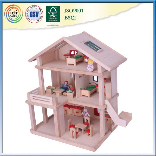 Best popular wooden outdoor house,educational toy 2016
