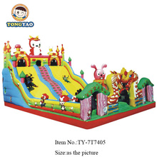 factory price inflatable bouncy castle games for sale