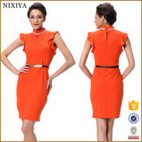 Orange dresses Names of dresses styles Ladies office dresses 2014