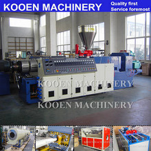 KOOEN plastic HDPE water supply and gas supply pipe making machine