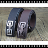 Automatic buckle genuine leather unique mens belts