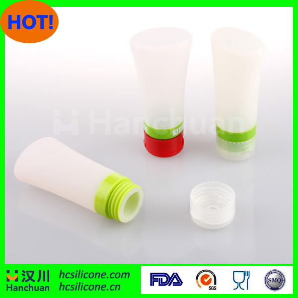 silicone shampoo bottle mini travel bottle