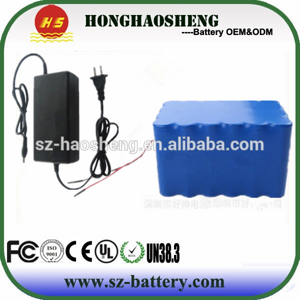 6s12p 18650 24v 24ah lithium ion battery pack mini-motorcycle e-bike battery