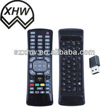 2013 China new deaigned air mouse remote control with Qwerty keyboard