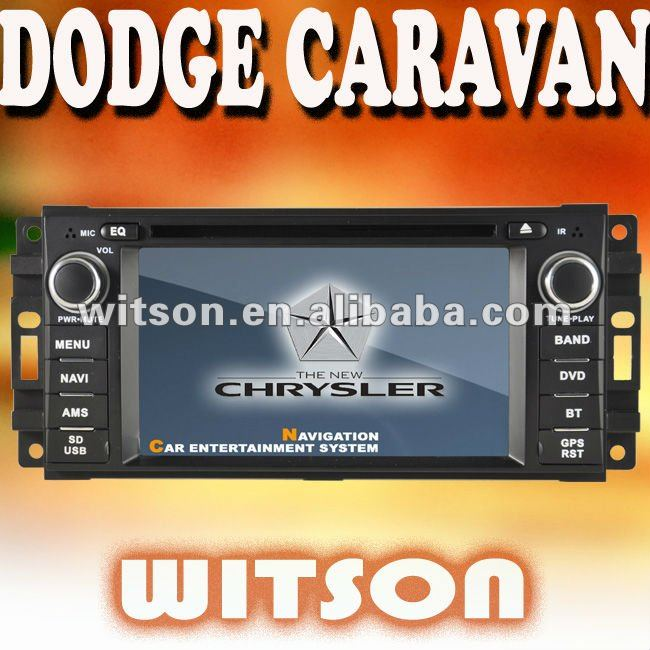 WITSON car mp3 player for DODGE CARAVAN with Built-in TV tuner