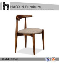 High Quality coffee shop Wood design chair & waxing chair & tufted chair