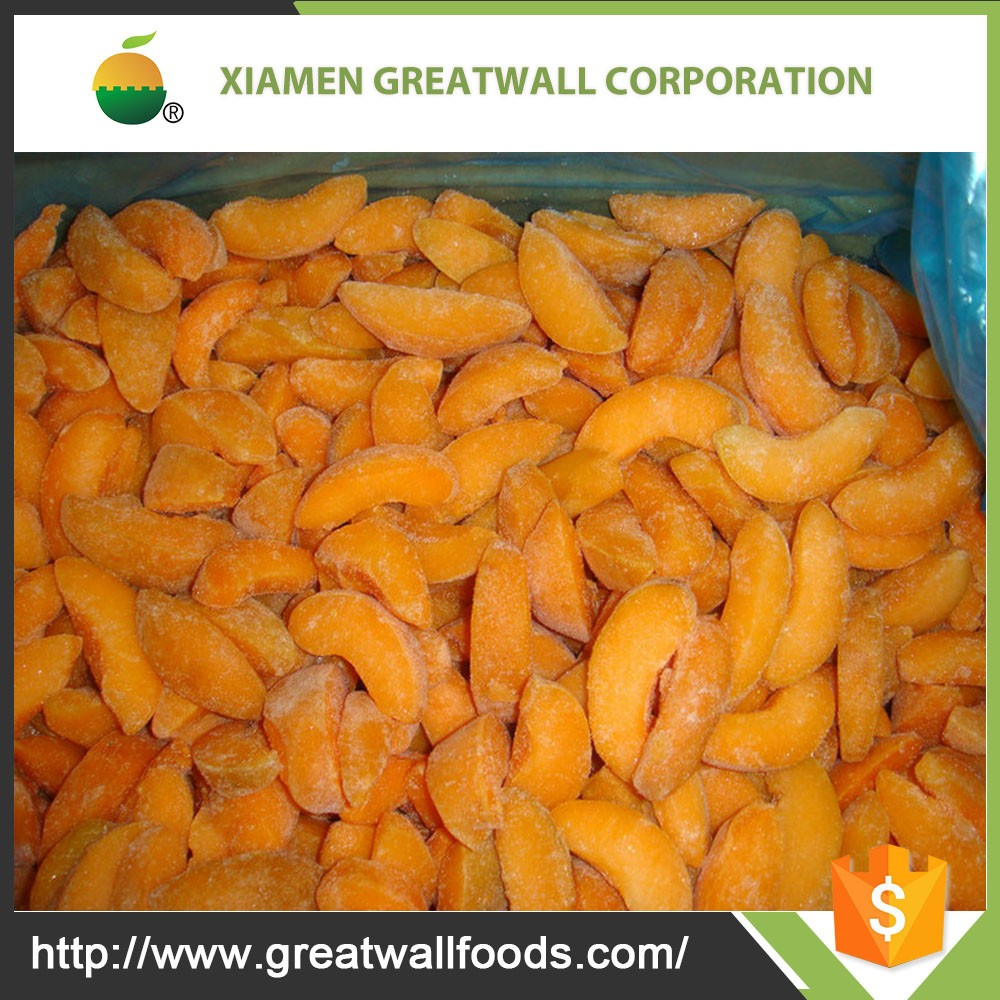Frozen apricot fruits with good quality