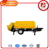 Conventional trailer Professional Small Widely Used Concrete Pump on sale for sale with CE approved