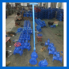 Soft seated Buried Gate valve with stem Cap And T- Key