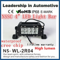 4 inch 24w cree off road led lightbar,led driving light,waterproof,for 4x4 car accessory,SUV,ATV,4WD,truck,UTV,CE,IP68,RoHs