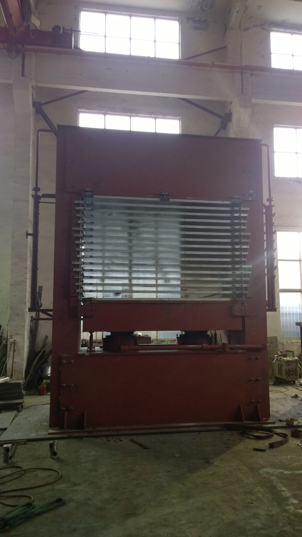 woodworking machinery hot press