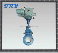 Electrical actuated gate valve