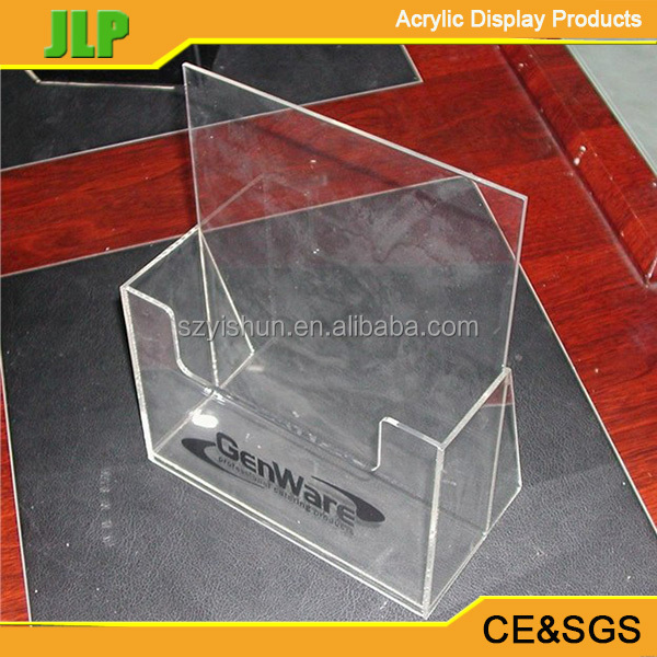 Cheap acrylic brochure file stand