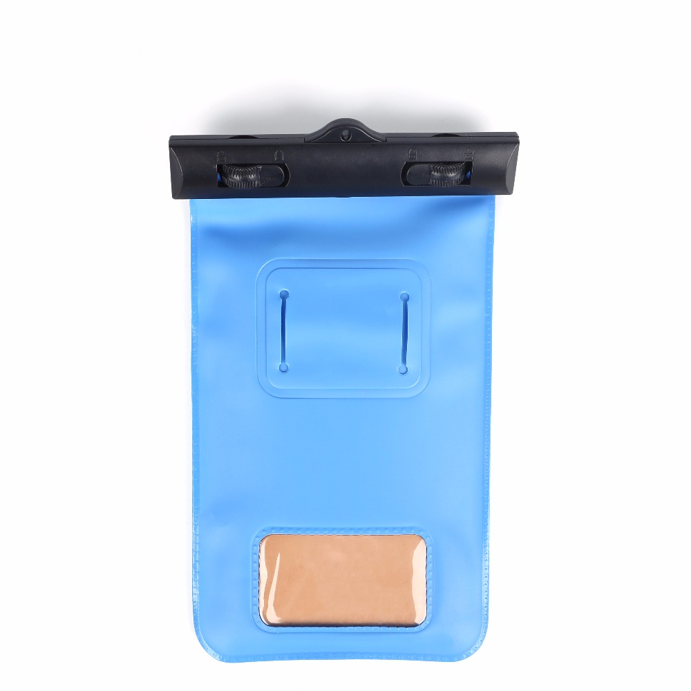 Colorful PVC Cell Phone Waterproof Pouch Bag Cover For Outdoor