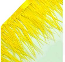 cheap sale colored ostrich fringe\/trim cock feather boa