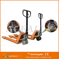 nylon/PU wheels cheap pallet truck 2ton 2.5ton 3 ton used hand pallet truck