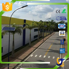 Customized solar led street light/mono silicone solar panel/Gel battery