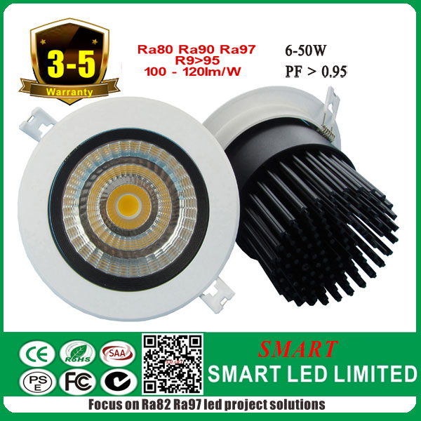 10w imported cob chip with best drivers downlight , 5 years warranty for commercial led project illumination!