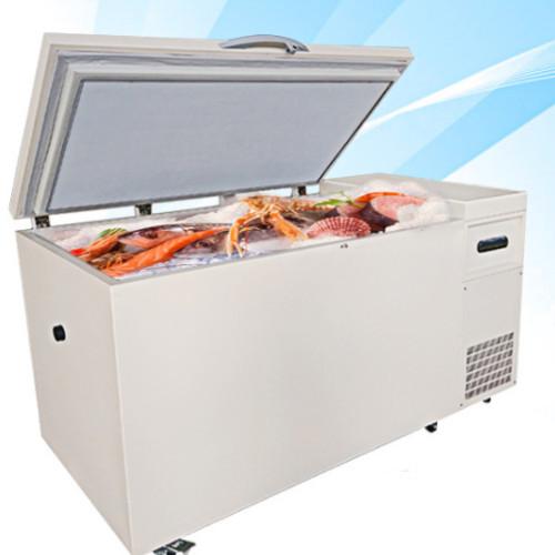 Big Capacity 498L Chest Seafood Deep Refrigerators/Fridge/Freezer/Chiller Dw-60W498