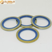 Iron Metal Blue NBR Rubber Gasket Dowty Washer BS/A Selfcentering Bonded Seals