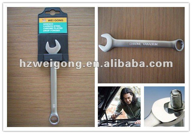 Crv Steel Type of Box Wrench
