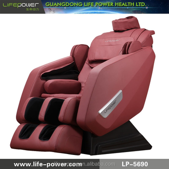 2015 J shape Super long lead rail zero gravity life power massage chair