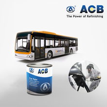 ACB car paint color chart white color paint 2K topcoat