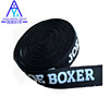 logo printed jacquard elastic band for garment industry